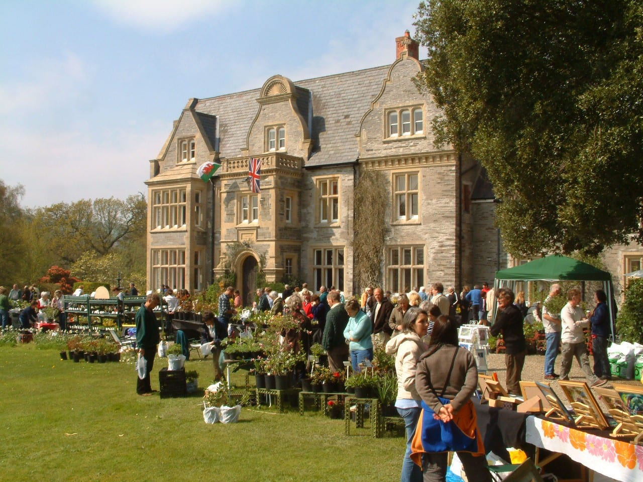 West Wales Plant Fair: Rhosygilwen